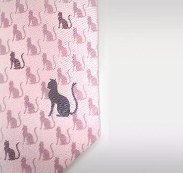 おしゃれな猫のネクタイ M様からのオーダー